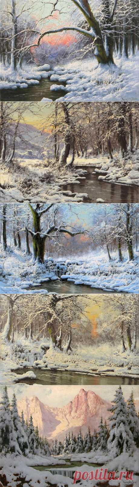 Laszlo Neogrady. Los paisajes invernales