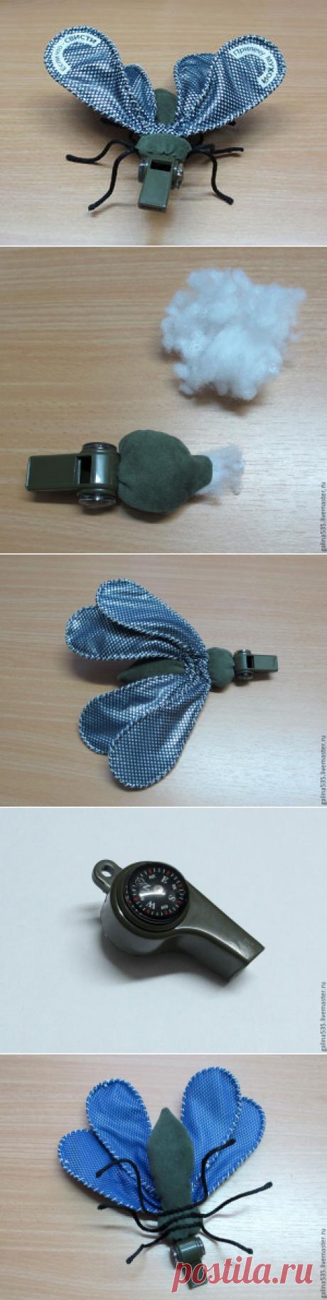 Шьем смешную муху в подарок - Ярмарка Мастеров - ручная работа, handmade