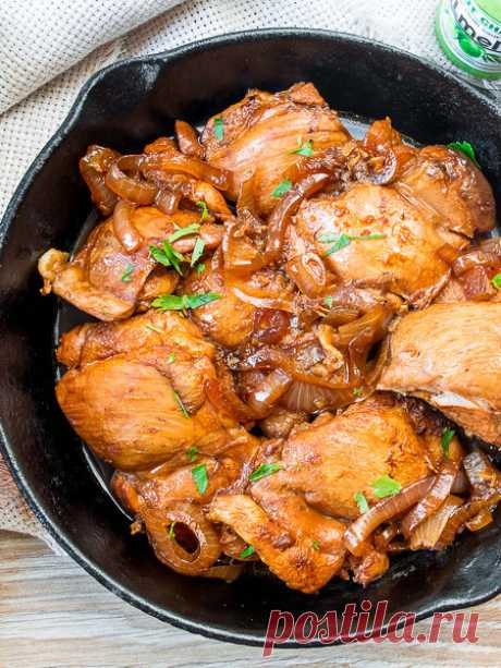 Рецепт курицы адобо