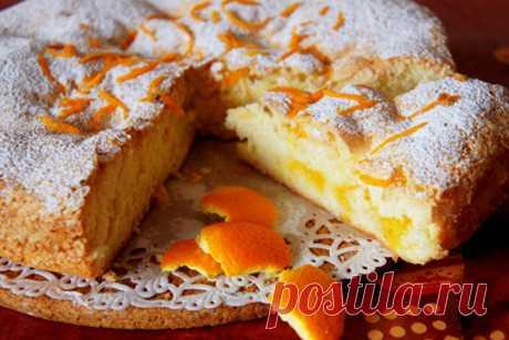 Апельсиновый пирог Нежность