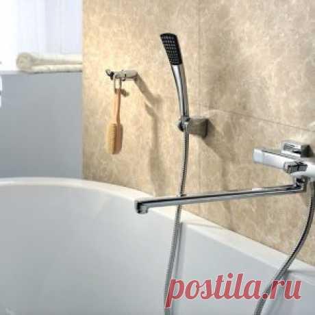 Высота смесителя над ванной – как правильно расположить кран