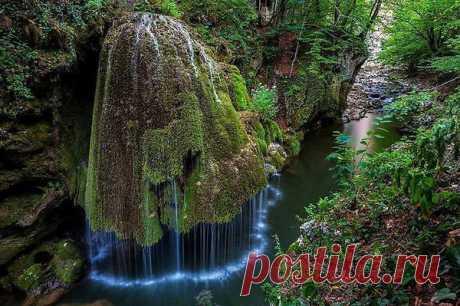 Водопад Бигар в Румынии