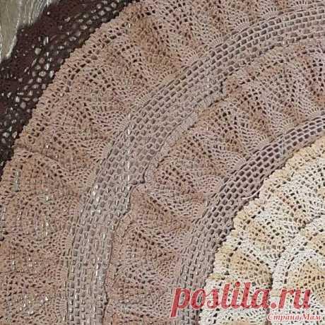 Роскошная юбка «Букет кофейных нитей» ( 9 фото ) | Краше Всех