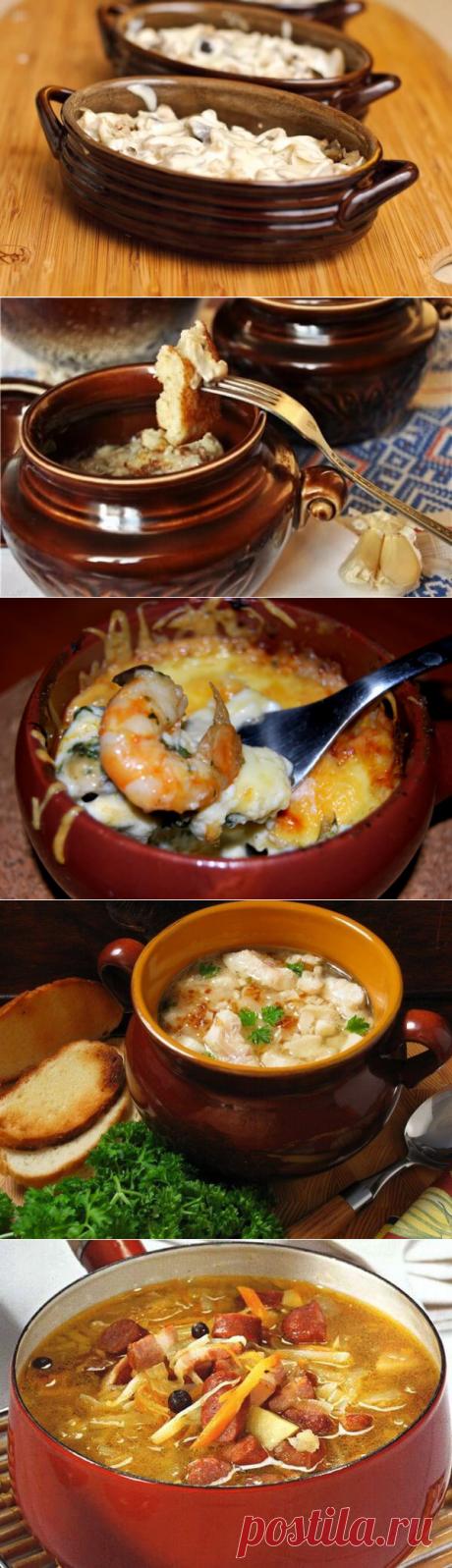 7 оригинальных рецептов блюд в горшочке
