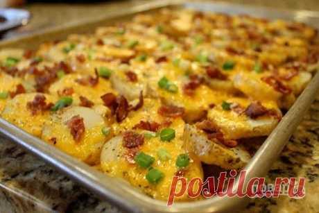 Картошечка в духовке - 225 золотых рецептов!