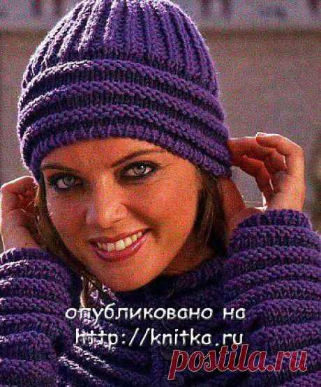Фиолетовая шапочка
