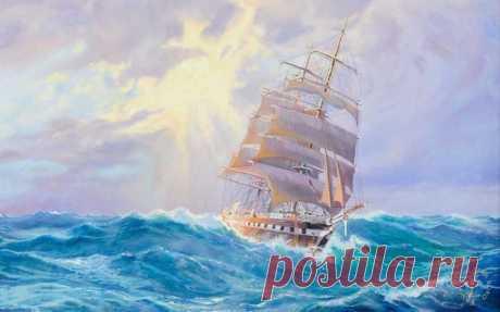 Корабль не тонет, когда он в воде. Он тонет, когда вода в нём. Не так важно, что происходит вокруг нас. Важно то, что происходит внутри нас.