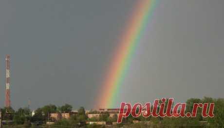 первая радуга в Камышлове