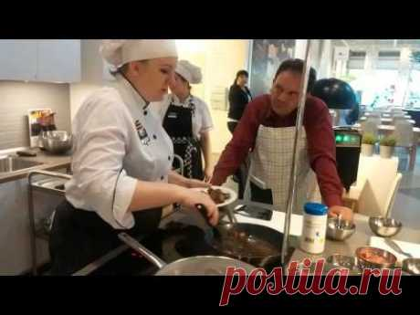 Приготовление фрикаделек и котлет в ИКЕА