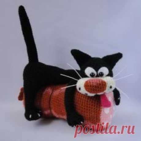 Любитель колбаски от Irinadas - МК по вязанию игрушек - Форум почитателей амигуруми (вязаной игрушки)
