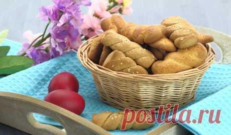 Пасхальное печенье с кунжутом и апельсиновым соком - Лайфхакер
