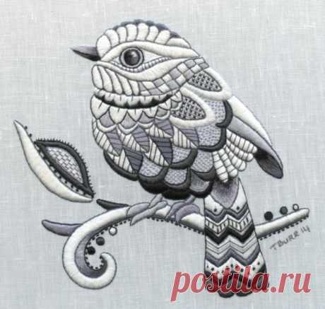 (9) Gallery.ru / Фото #12 - вышивка от Trish Burr - Vladikana