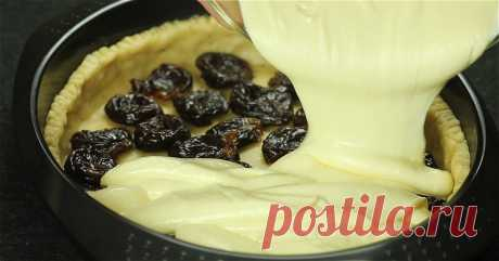 Simple recipe of tasty and nourishing cottage cheese pie. Dream of any hostess! Here still piece...