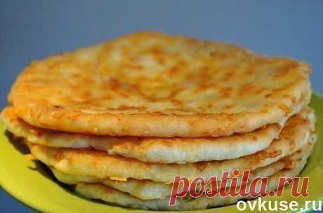 Сырные лепешки за 5 минут - Простые рецепты Овкусе.ру