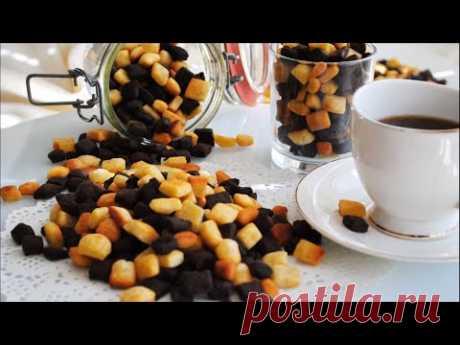Печенье «Африканские Камешки»🌟Рецепт очень простого печенья на сковороде к чаю🌟 - YouTube
