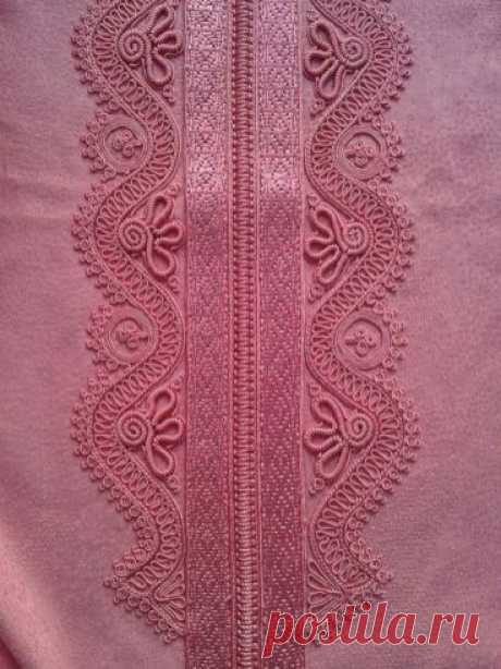 Декорирование одежды шнуром | Калейдоскоп Рукоделия