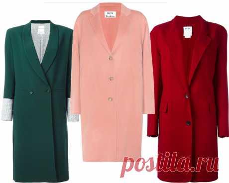 7 моделей пальто, которые будут в моде этой весной - Мода - Леди Mail.Ru