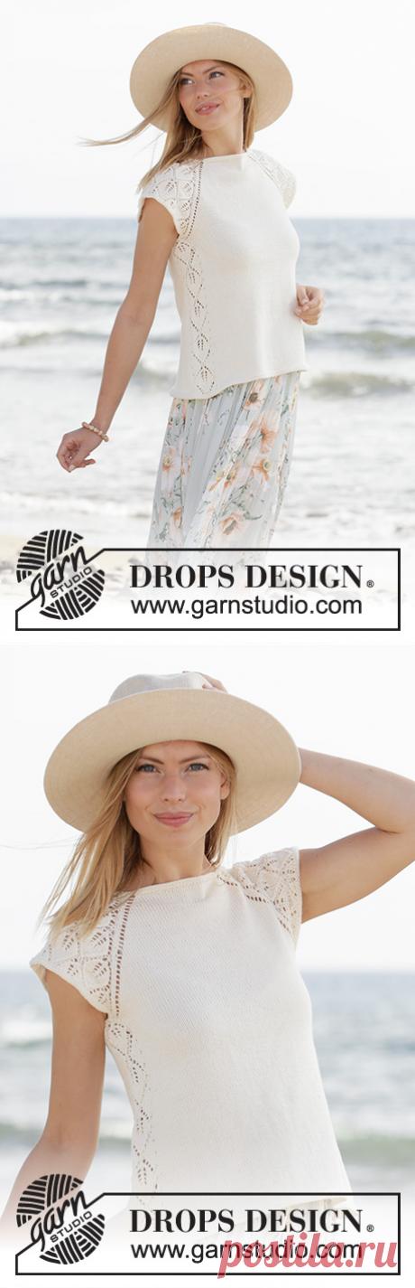 Топ Catch the Wind от DROPS Design - блог экспертов интернет-магазина пряжи 5motkov.ru