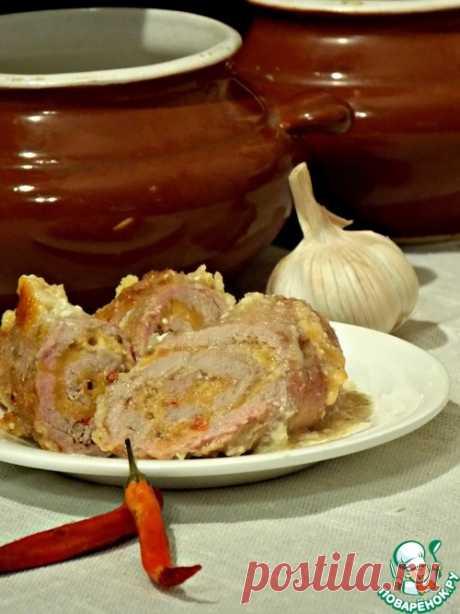 Мясные рулеты в соусе - кулинарный рецепт