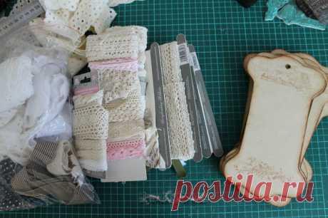 Как сделать винтажные бобины для кружева