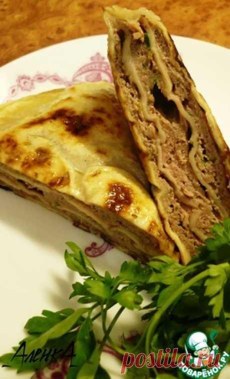 Китайские лепешки с мясом - кулинарный рецепт