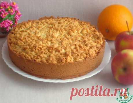 Апельсиново-яблочный пирог – кулинарный рецепт