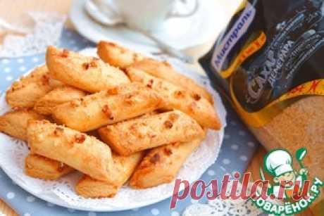 Брусочки кондитерские с орехами - кулинарный рецепт