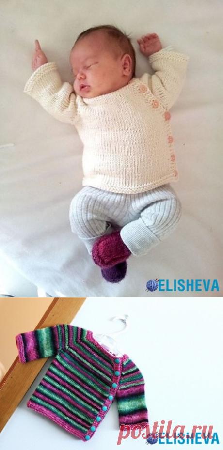 Кардиган для новорожденного от PEKAPEKA