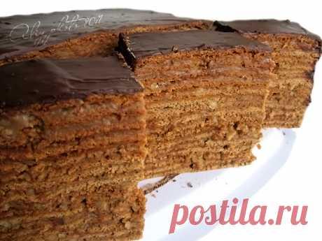 """3. Торт """"Дамский каприз"""" (шоколадный)"""