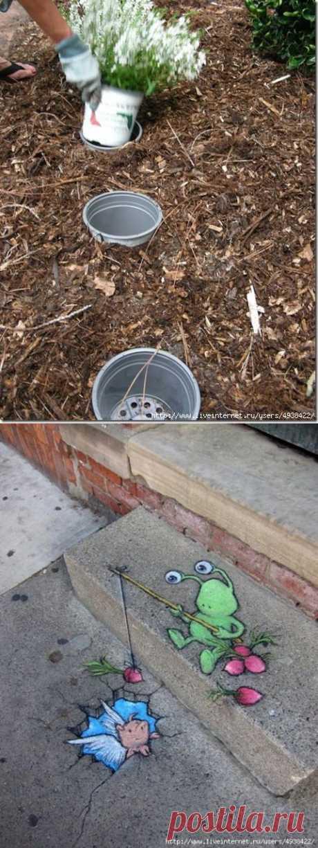 иятные и полезные мелочи в саду (подборка).