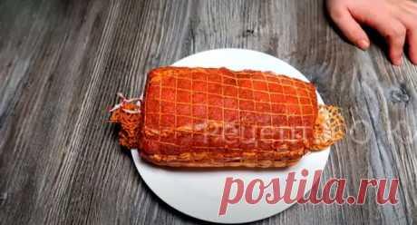Готовится просто и очень выгодно! Сыровяленое мясо в домашних условиях - Скатерть-Самобранка - медиаплатформа МирТесен