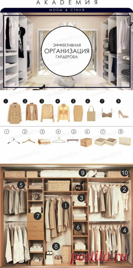 Академия моды и стиля. Эффективная организация гардероба