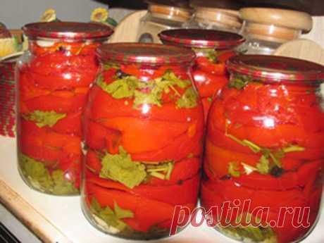Маринованные перцы по армянски