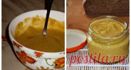 Самая вкусная домашняя горчица - Лучший сайт кулинарии