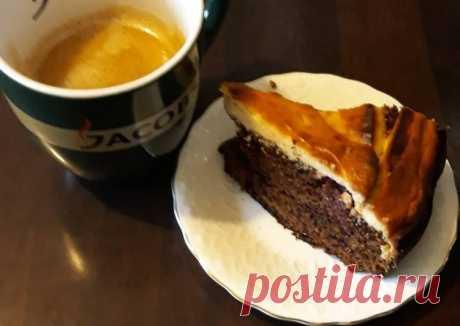 (13) Пирог с творогом и вишней - пошаговый рецепт с фото. Автор рецепта Елена Гичева 🌳 . - Cookpad