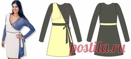 Платье для кормящих мам | Выкройки одежды на pokroyka.ru