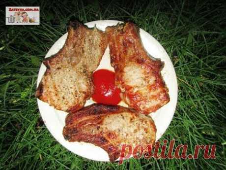 Свиная корейка на гриле без маринования (+ВИДЕО) - Затейка.com.ua - рецепты вкусных десертов, уроки вязания схемы, народное прикладное творчество