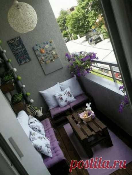Как обустроить уютный балкон для летнего отдыха