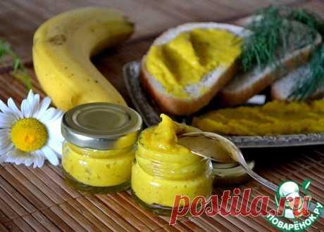 Банановый соус к мясу - кулинарный рецепт