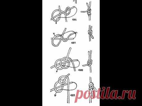 La elección de los nudos de tejido. (Weaver's knots)