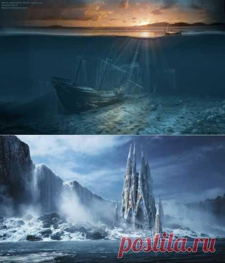 Фантастические миры от Джоржа Грие | Развлекательный сайт хорошего настроения