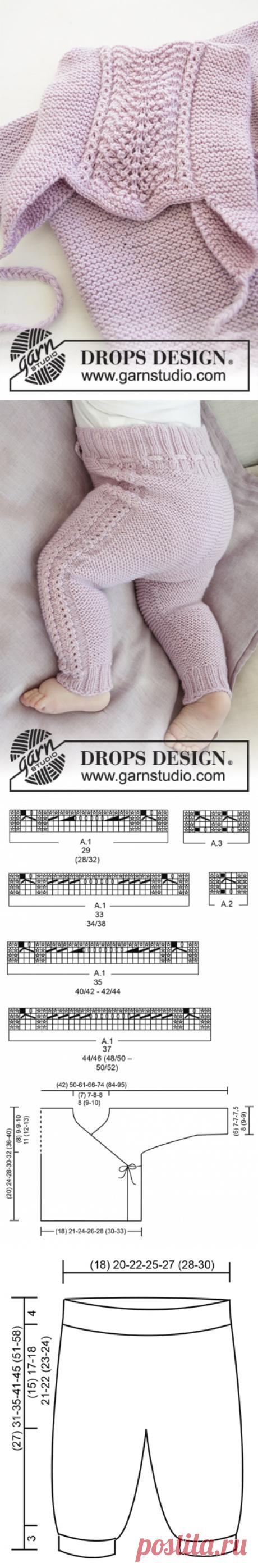 Комплект из кофточки, штанишек и шапочки Hello Kitten - блог экспертов интернет-магазина пряжи 5motkov.ru