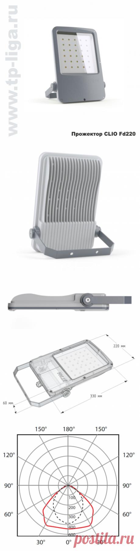 Прожектор уличный  CLIO-FD80 S
