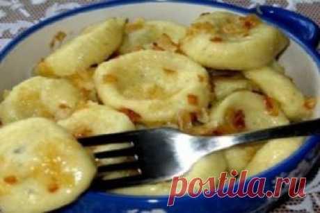 Ленивые вареники с картошкой — это так вкусно и быстро! Необыкновенно вкусный, ароматный и питательный обед