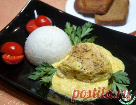 Куриные грудки в сметанно-апельсиновом соусе – кулинарный рецепт