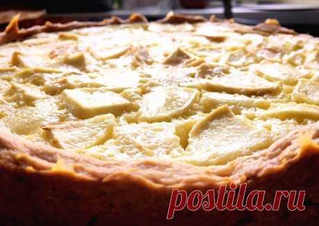 Пирог « Яблоки на снегу» Автор рецепта Татьяна - Cookpad