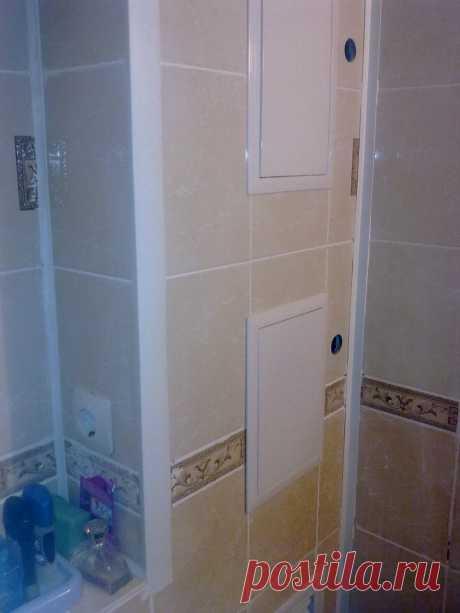 Как спрятать трубы в ванной | Роскошь и уют