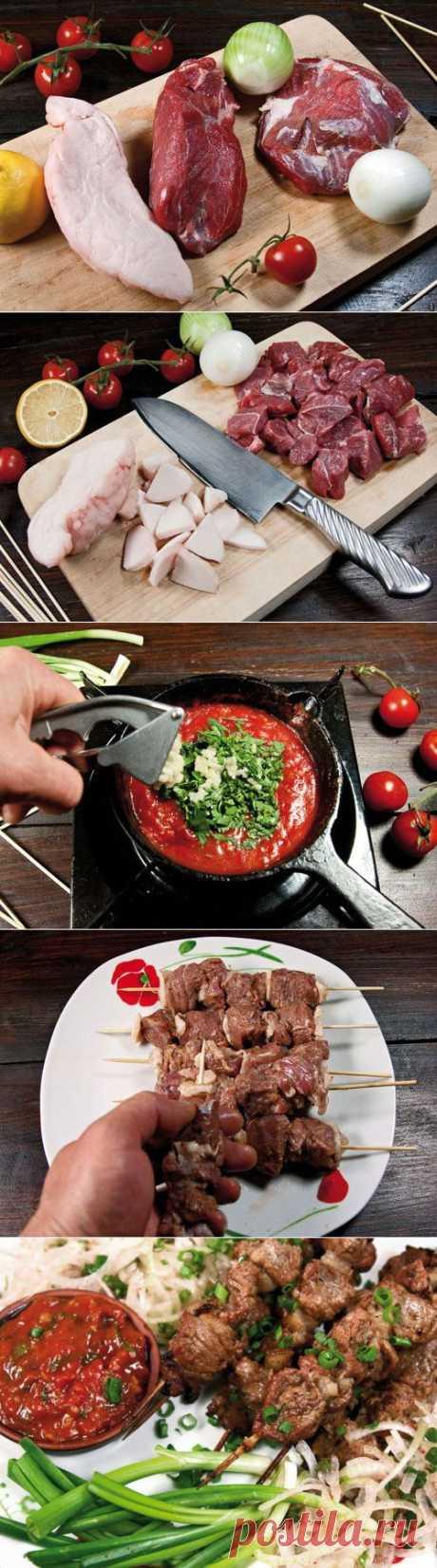 Шашлык в духовке: не хуже, чем на углях