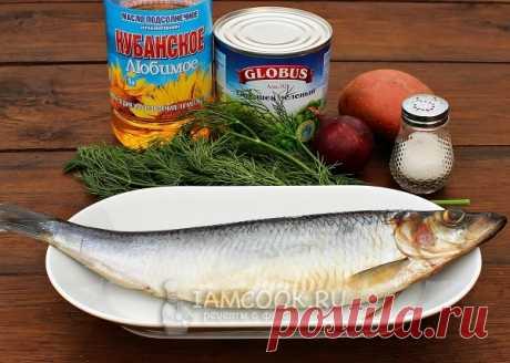 Салат из селедки с горошком — рецепт с фото пошагово