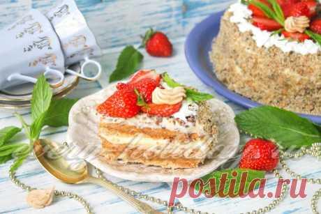 Карамельный «Киевский» торт.